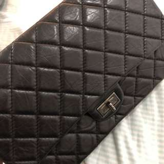 Chanel 2.55中size 牛皮 100%real