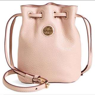 Authentic Tory Burch Mini boxing bag Leather