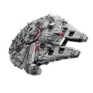 05033 Ultimate Collector's Millennium Falcon Star Wars 2 sets left