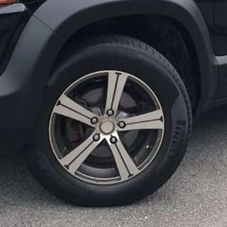 Rims & Tyres for Honda Crossroad