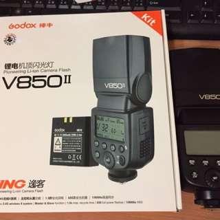 👀只用過一次!🙏神牛 V850II 106年10月購買 9成新 只用過一次 盒子 電磁 配件齊全