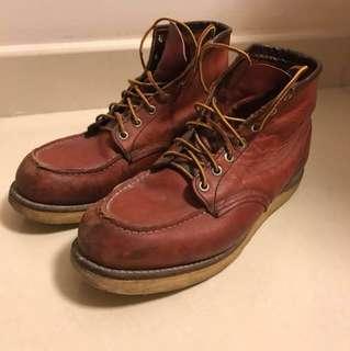 [中古] Red Wing Shoes 8875 Boots US9 紅翼 皮靴 木村拓哉著用 古著