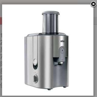 Braun 百靈牌 榨汁機 J700