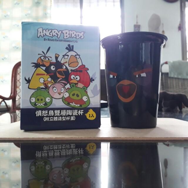 憤怒鳥雙層陶瓷杯(有2款)