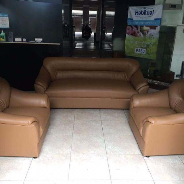 3 piece Blims Leather Sofa Set RUSH SALE FREE SHIPPING