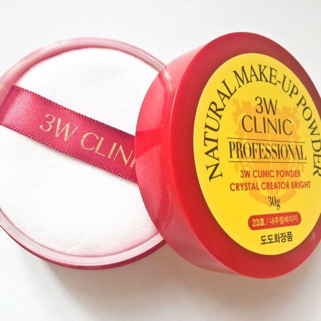 3W Clinic Professional Natural Make-Up Powder 30g Shade : 23 Natural Beige