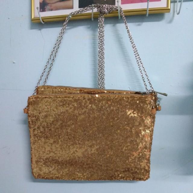 金包銀化妝包&包包