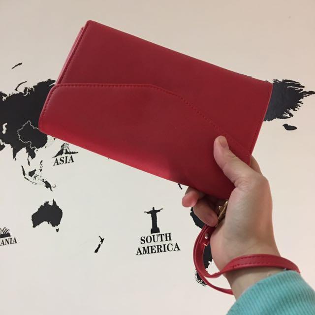 紅色信封手拿包