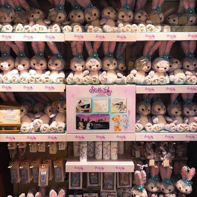 代購 日本海洋迪士尼史黛拉兔玩偶、零錢包、吊飾、達菲、雪莉玫玩偶