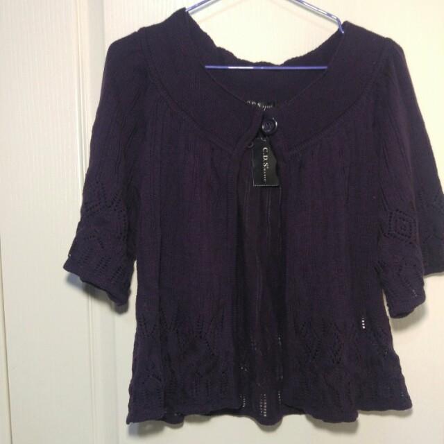 日本製針織外套 罩衫