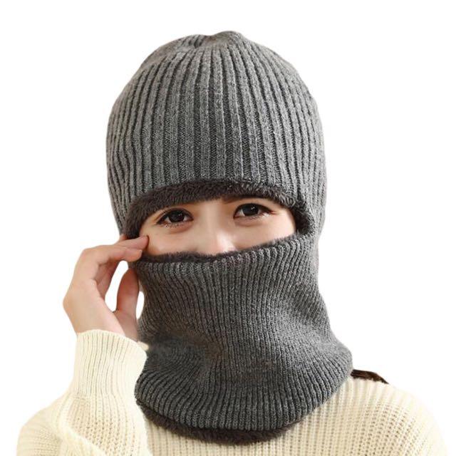套頭帽 加厚加絨 騎車超保暖