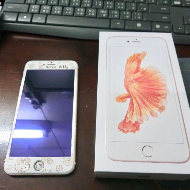 二手近全新 I phone 6s Plus 32g 玫瑰金 5.5吋