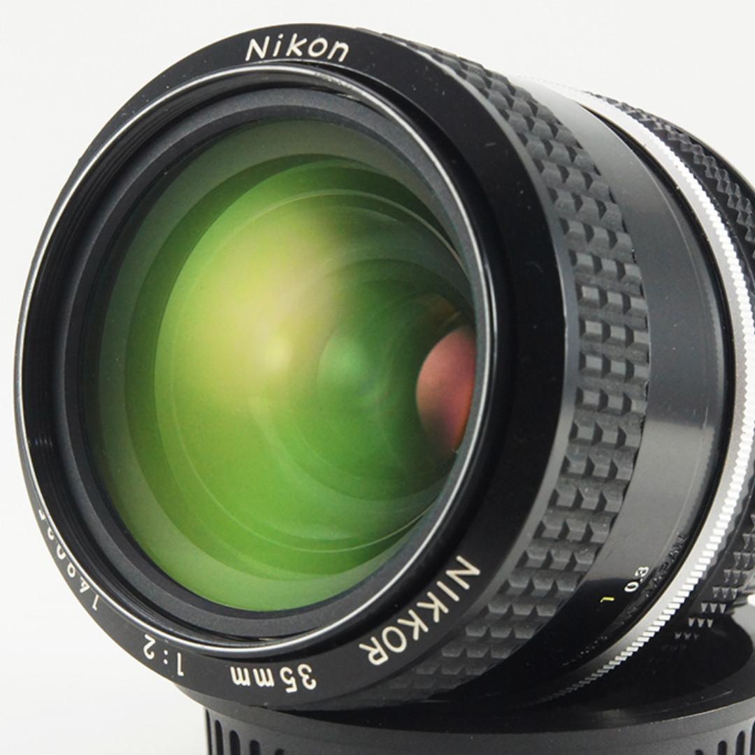 **日光銀鹽** Nikon Nikkor AI'D 35mm F2.0 定焦廣角鏡 #035