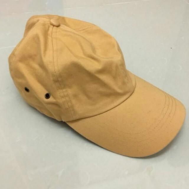 (代售)古著 vintage a prank dolly 駝色老帽棒球帽
