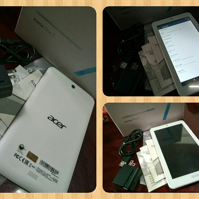 Acer Iconia 7 B1-770 Tablet