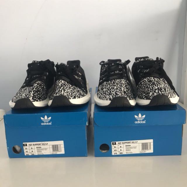Adidas EQT Support Boost 93 17 Oreo 05aac3a35e