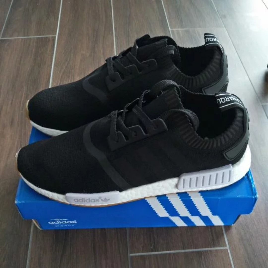 separation shoes 1f45a 376af Adidas NMD R1 PK Black Gum