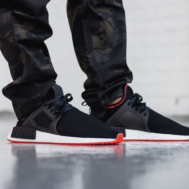 Adidas NMD XR1 PK Core Black Sole Red 7522448cf