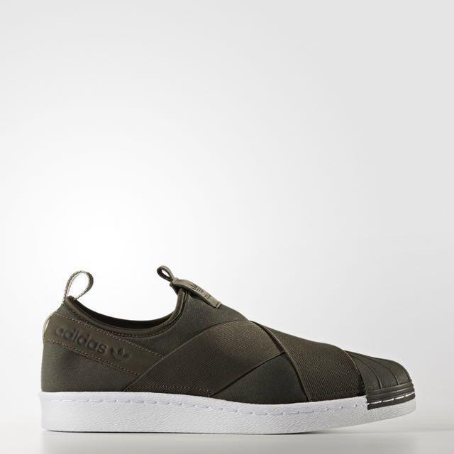 adidas Superstar Slip on Shoes Black | adidas Ireland