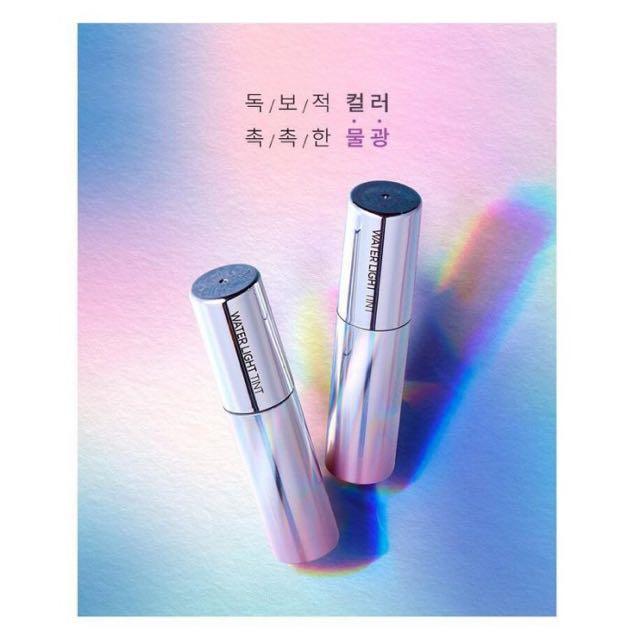 小公主♥韓國代購美妝APIEU Water light tint 銀河美人魚水光保濕唇釉 4g