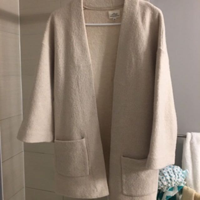 Aritzia brullon xxs heather bone