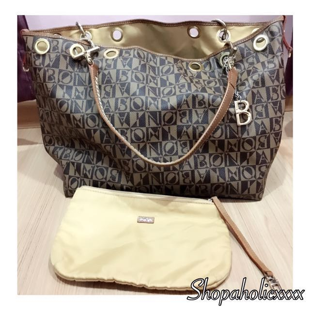 e56d90d6ae Authentic BONIA Tote Bag, Women's Fashion, Bags & Wallets on Carousell