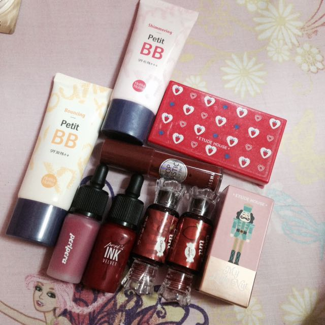 Authentic korean cosmetics
