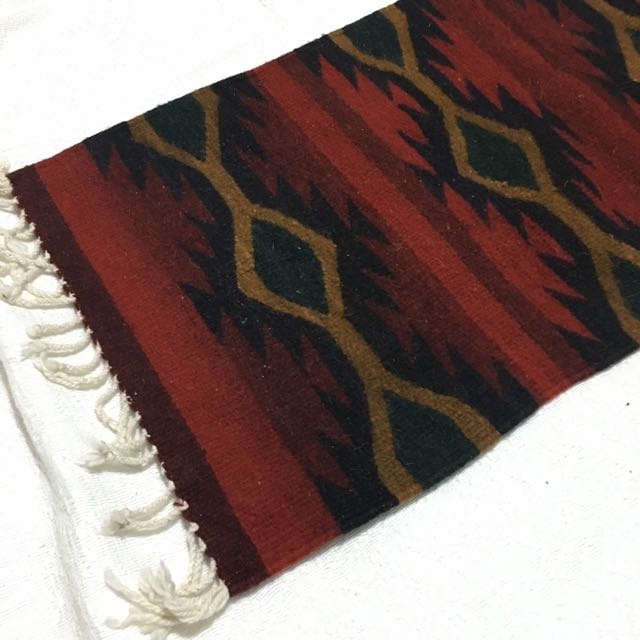 Aztec rug carpet
