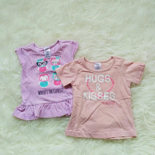 Baby girl top 2pcs
