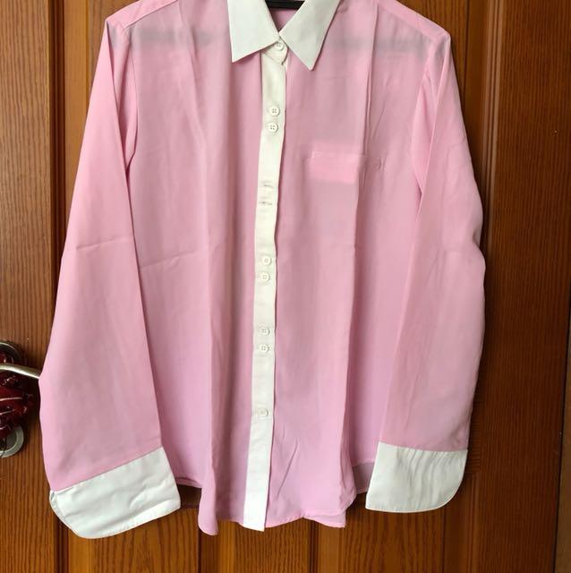 Baju panjang pink