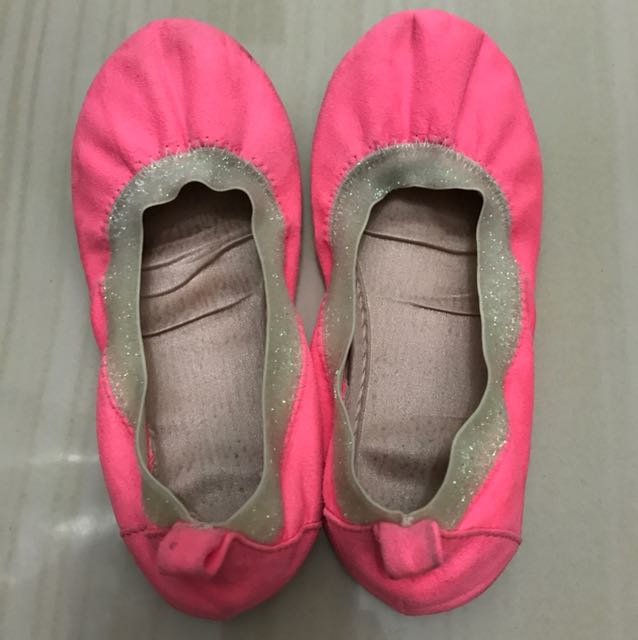 Balet shoes neon pink