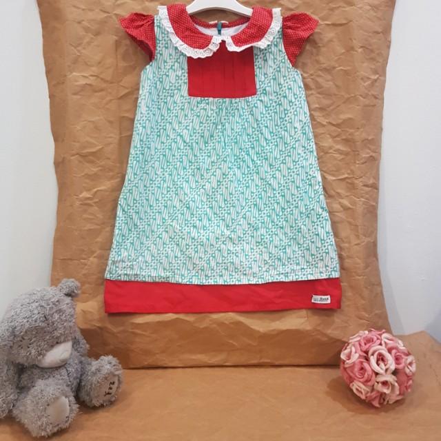 Batik Dress sz 3