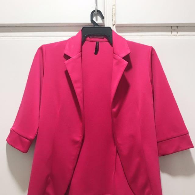 Bayo Pink Blazer