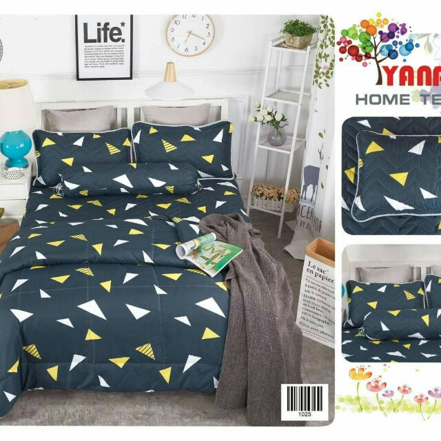 Bedsheet 5 set including!