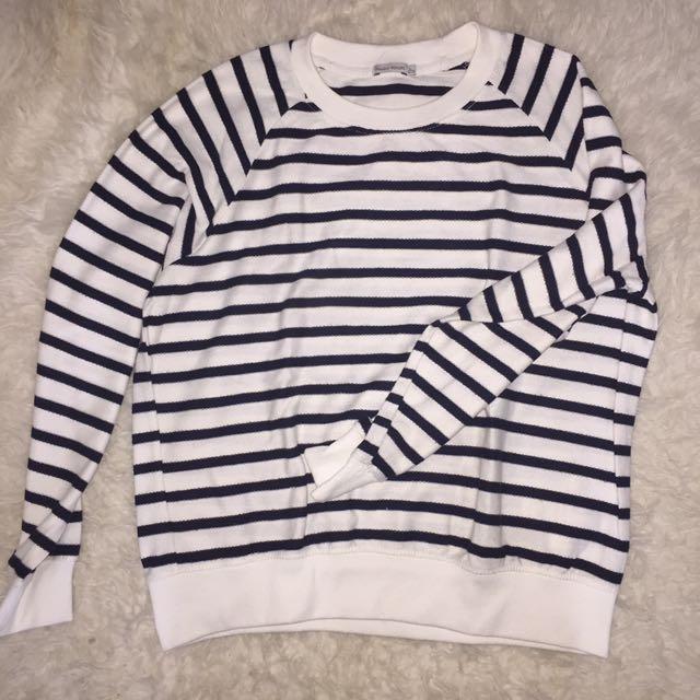 Bershka Striped Sweater