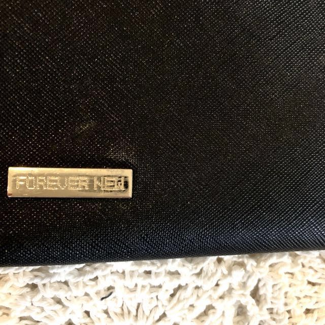 Black clutch - Forever New