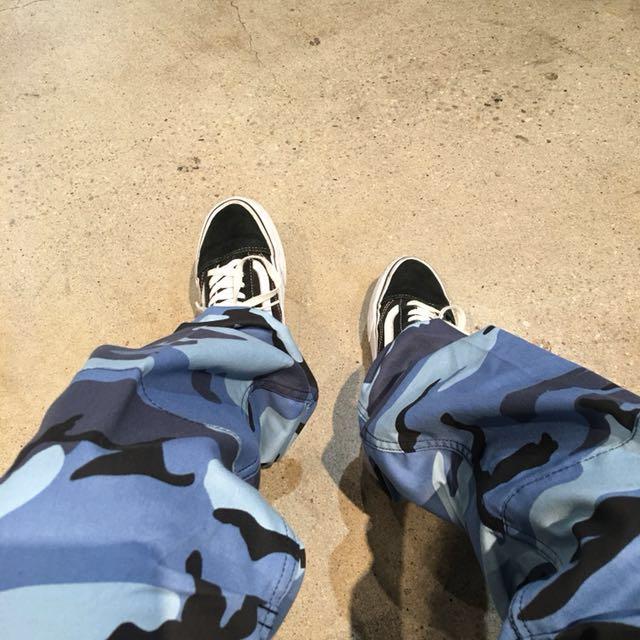 Blue CAMO Pants (Rothco)