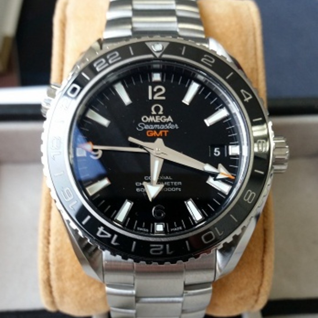 seamaster hand watch very stainless watches product edition ss owned sas s omega mens men steel planet pre second details ocean limited xl rare