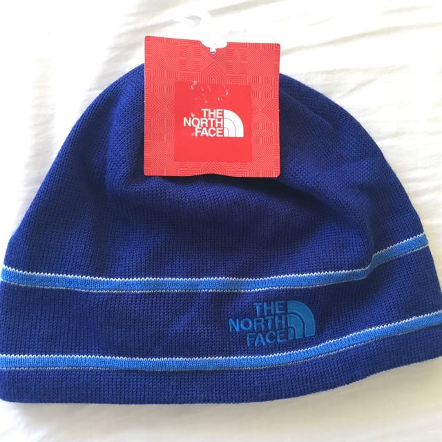 569117c96db BRAND NEW (IMPORTED) THE NORTH FACE UNISEX LOGO BEANIE TNF BLUE ONE SIZE -  INTL.