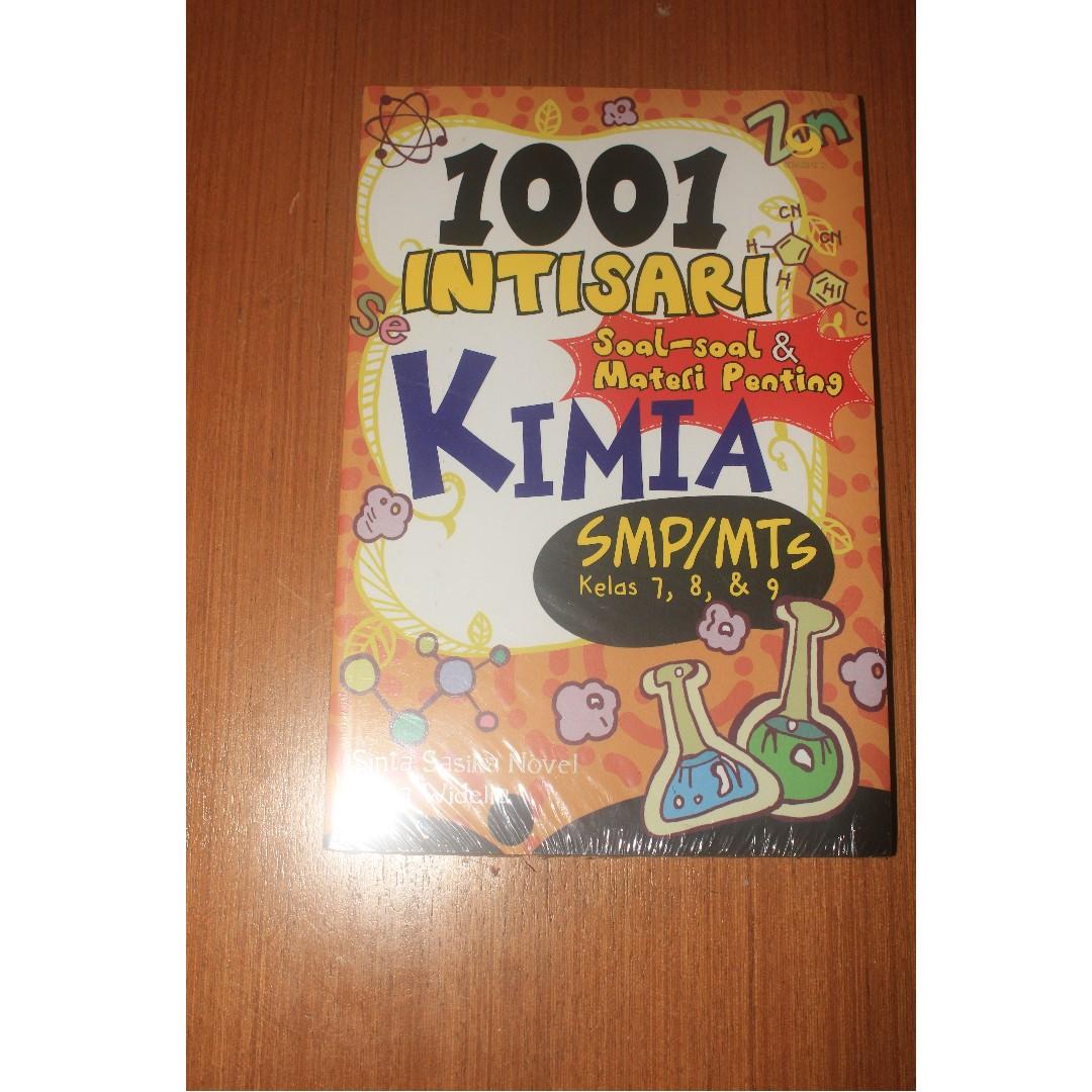 Buku 1001 Intisari Kimia SMP MTS