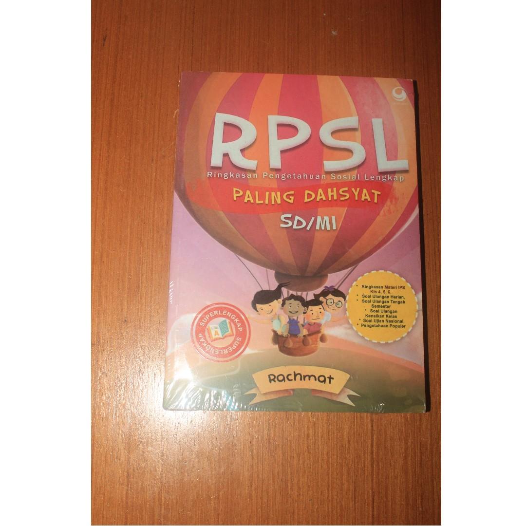 Buku RPSL Ringkasan Pengetahuan Sosial Lengkap SD MI