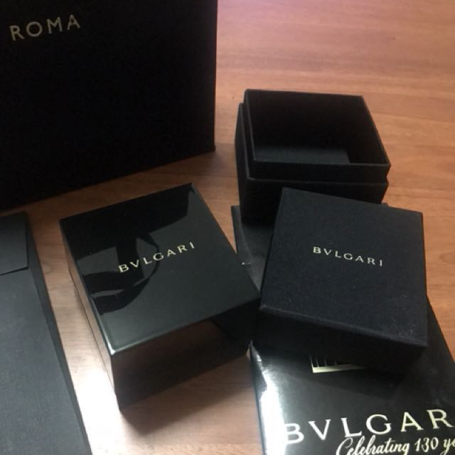 Bvlgari Ring Box paper bag Luxury Accessories on Carousell