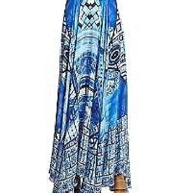 Camilla Franks Power Of Prayer Maxi Skirt,  Size 1 In perfect like new condition