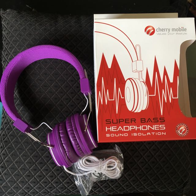 Cherry Mobile super bass headphones