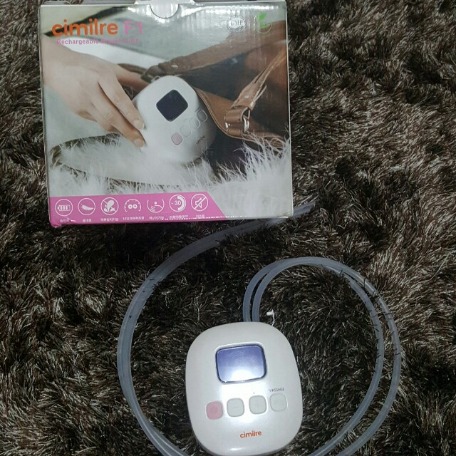 Cimilre Rechargeable Breast pump w/ free accessories