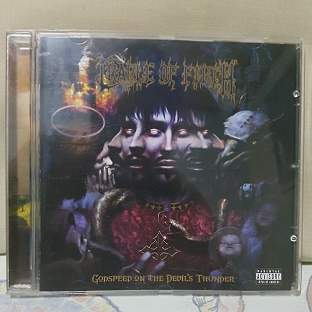 Cradle of Filth - Godspeed on the Devil's Thunder Original CD