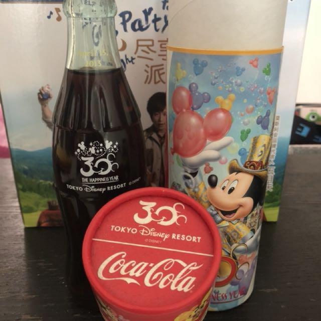 日本Disney 30週年 可口可樂