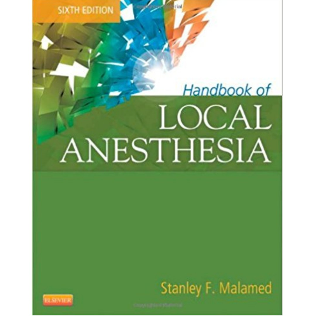 Dentistrynerds items for sale on carousell e book handbook of local anesthesia 6th edition by stanley malamed fandeluxe Images