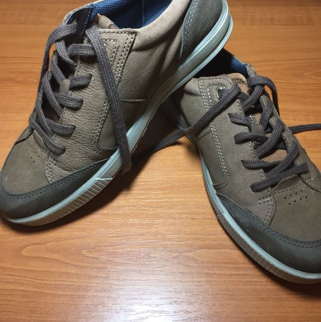 ECCO Casual brown leather sneakers