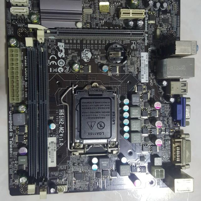 ECS Motherboard H61H2-M2 v1 2